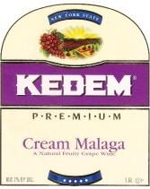 Kedem Cream Malaga 750ml - Case of 12